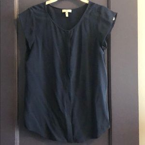 Joie Navy Blue Blouse (XS)